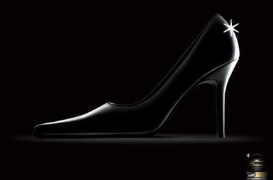 Nugget Shoe Polish: Female Shoe Print Ad by Euro Rscg Sao Paulo