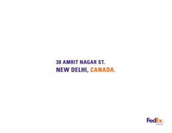 Fedex: India Print Ad by Brother Ad School Santo Domingo
