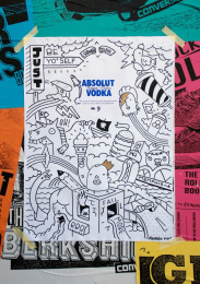 Absolut Vodka: UNIQUE POSTER NR.9 Outdoor Advert by TBWA\ Dusseldorf
