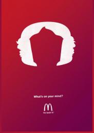 Mcdonald's Fast Food Restaurant: Ice cream Print Ad by Heye & Partner Munich