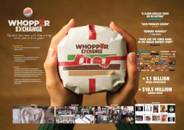 Burger King: Whopper Exchange [presentation board] Digital Advert by Akqa Sao Paulo