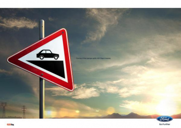 Ford: Sign Print Ad by Ogilvy & Mather Istanbul