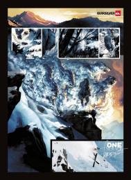 Quiksilver: CANDIDE THOVEX SKIING Print Ad by Halbye Kaag J. Walter Thompson Copenhagen