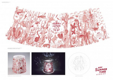 Kentucky Fried Chicken (KFC): Kfc Suppertime Stories [image] 3 Design & Branding by Ogilvy Johannesburg