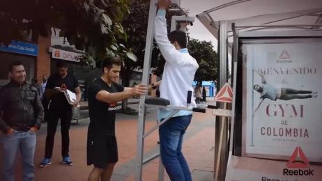 Reebok: Pop-up gyms Film by Bombai, Jcdecaux