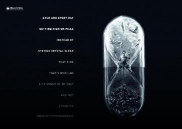 Blue Cross: Reverse Poems, 3 Print Ad by Serviceplan Munich