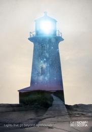 Nova Scotia Tourism: Lighthouse Print Ad by DDB Toronto