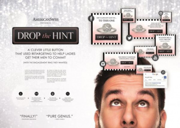 American Swiss: Drop The Hint, 2 Digital Advert by Vml Cape Town