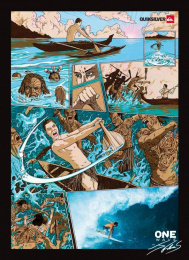 Quiksilver: JEREMY FLORES SURFING Print Ad by Halbye Kaag J. Walter Thompson Copenhagen