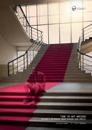 Art Directors Club Creative Awards: Stairs Print Ad by Vaculik Advertising