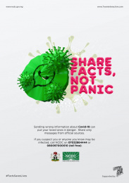 Nigeria Centre for Disease Control: Don't spread it!, 2 Print Ad by 7even Interactive Limited