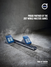 Volvo: Get set Print Ad by Republik Communications