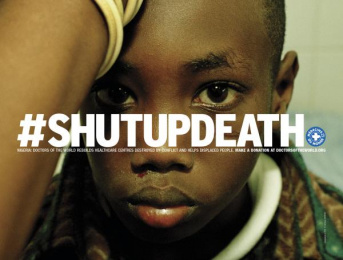 Doctors Of The World: Shut Up Death, 6 Print Ad by DDB Paris, Frenzy
