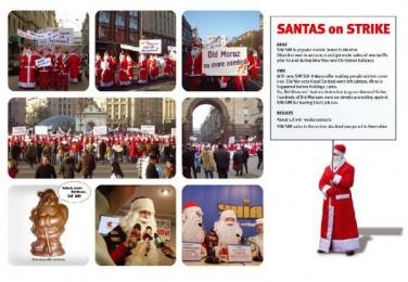 UMC: SANTAS ON STRIKE! Digital Advert by Promotion Technologies