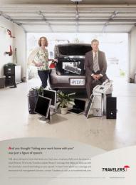 Travelers: TRUNK Print Ad by Fallon Minneapolis