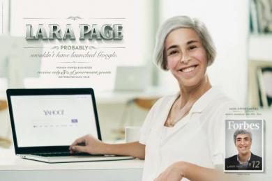Forbes: Women - Lara Page Print Ad by Ogilvy Sao Paulo