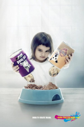 Young Director Award (YDA): Double Life Print Ad by TBWA\ Helsinki