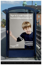 HOME SAFETY TIPS WEBSITE: TIPS FOR A SAFE HOME Outdoor Advert by DDB Copenhagen