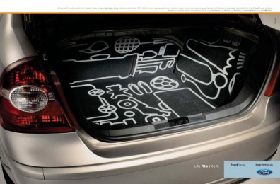 Ford Focus Zx5: Ford Focus Print Ad by J. Walter Thompson Johannesburg