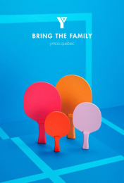 YMCA: Ping Pong Outdoor Advert by Ogilvy Montreal