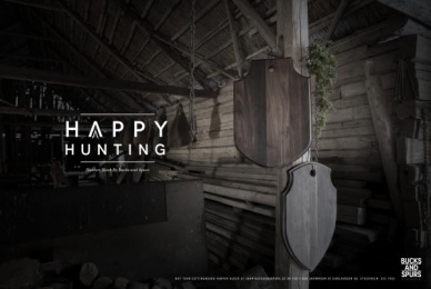 Bucks And Spurs: Happy Hunting, 2 Print Ad by Blooms Agency Stockholm
