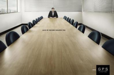 GPS Magazine: Isolation, 1 Print Ad by Artplan Brasilia