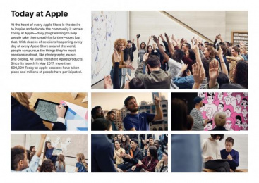 Apple: Design & Branding Ambient Advert by Apple Cupertino