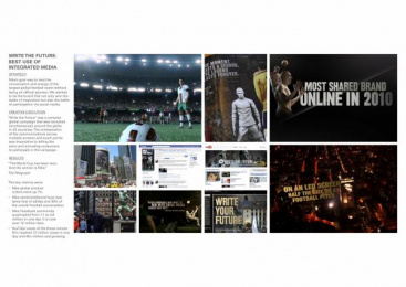 Nike Football: WRITE THE FUTURE Direct marketing by Akqa Amsterdam, Razorfish Portland, Wieden + Kennedy Amsterdam