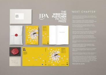 The Winston Fletcher Fiction Prize: Winston Fletcher, 6 Design & Branding by MullenLowe London