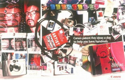 Canon Digital Camera: STEWART Print Ad by Cdp-travissully