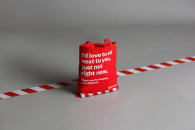 Västtrafik: No Douche Bag, 2 Print Ad by Forsman & Bodenfors, Sweden