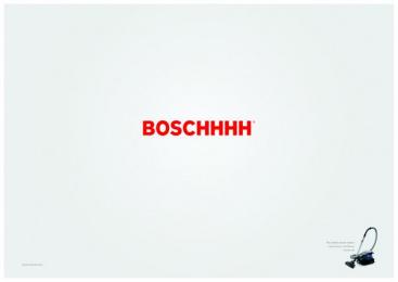 Bosch: Boschhhh Print Ad by BBDO Brussels