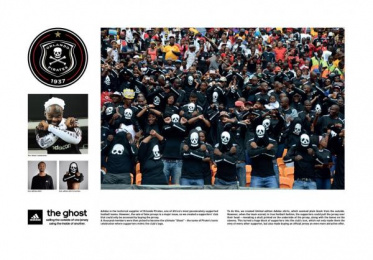 Adidas: The Ghost Direct marketing by 140 BBDO Cape Town