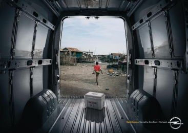 Opel Movano: Epidemics Print Ad by Y&R Madrid