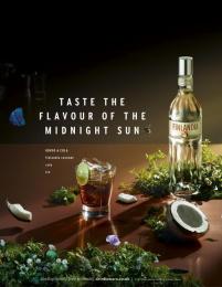 Finlandia Vodka: Kokos & Cola Print Ad by Wieden + Kennedy London