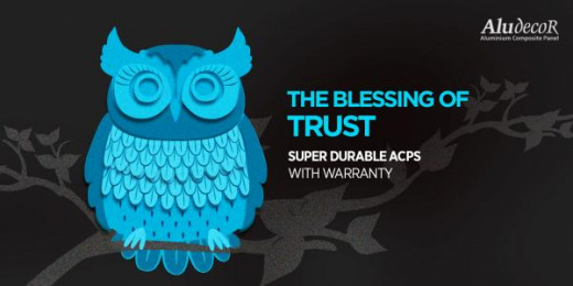 Aludecor: Owl Outdoor Advert by Response India