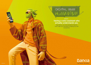 Bankia: Digital Humanism, 7 Print Ad by Attic Films, CLV Madrid