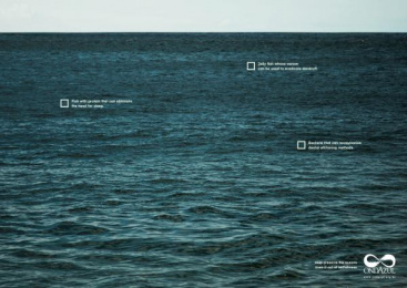 Fundacao Ondazul: Selfishness 4 Print Ad by Que Comunicacao