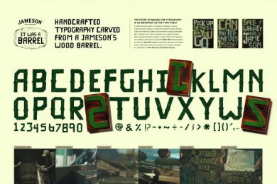 Jameson: It Was A Barrel Design & Branding by F.biz, Santa Transmedia
