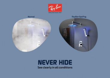 Ray-ban: Never Hide, 2 Print Ad by Art & Design Academy