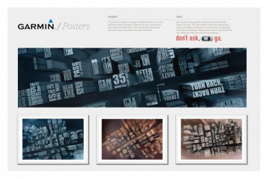 Garmin: DON'T GET LOST IN THE CITY CAMPAIGN Design & Branding by DDB & Co Istanbul