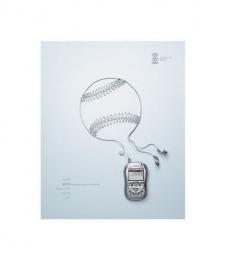 Xm Satellite Radio: BASEBALL Print Ad by Mullen Boston