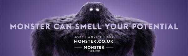 Monster.com: Monster is the Ultimate Head Hunter Print Ad by mcgarrybowen London