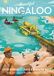 Protect Ningaloo: Beautiful Ningaloo - Bay Print Ad by Wunderman Thompson Perth