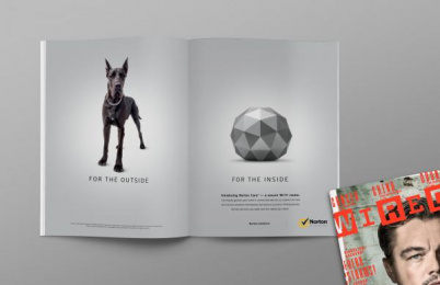 Norton: Wired Magazine Print Ad by Grey San Francisco, Vintage Pictures