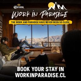 Corona: Work In Paradise, 2 Print Ad by WILD FI