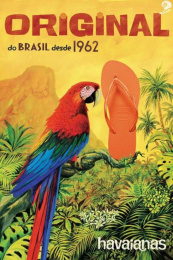 Alpargatas: Arara [alternative version] Print Ad by ALMAP BBDO Brazil, Landia