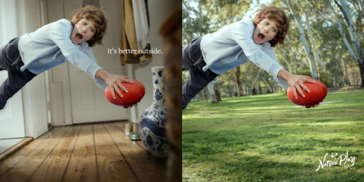 Nature Play SA: It's Better Outside, 4 Print Ad by Showpony Advertising