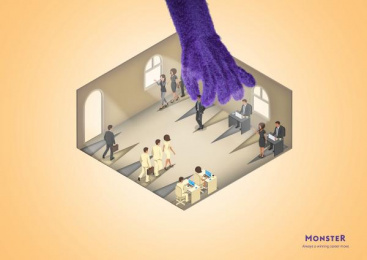 Monster.com: Career Moves, 3 Print Ad by Miami Ad School Hamburg