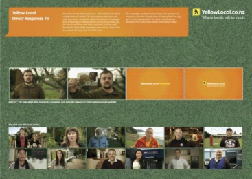 Yellow Pages/ YP: Yellow Apples Direct marketing by Rapp-tribal, Rapp/tribalddb